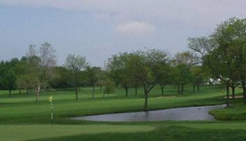 Olympia Fields Golf Course pond