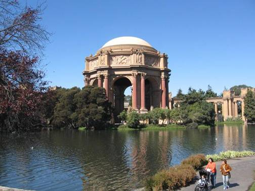 SF Palace of Fine Arts Water Feature