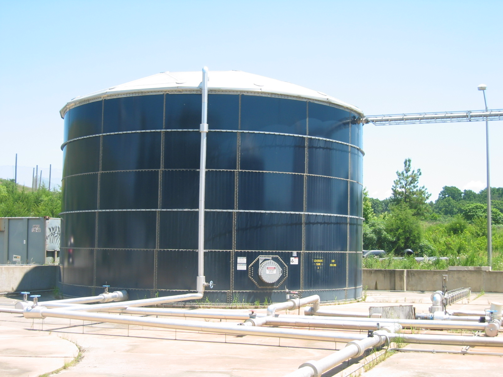 ep aeration designs tank aeration systems for a variety of applications including removal of iron manganese and hydrogen sulfide in drinking water and
