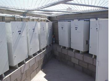 Ocotillo aeration cabinets