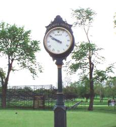 Olympia Fields Clock