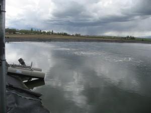 Metolius Wastewater Lagoon